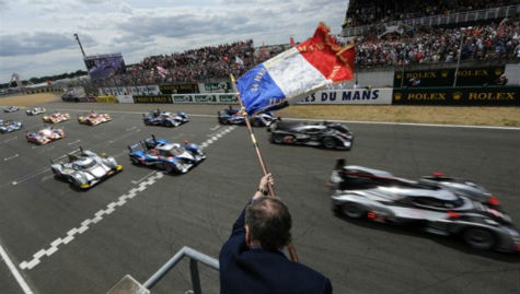 Image result for le mans start flag