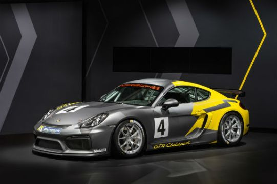 NEW PCA CLUB RACING PORSCHE CAYMAN GT CLUBSPORT TROPHY EAST - Porsche club racing