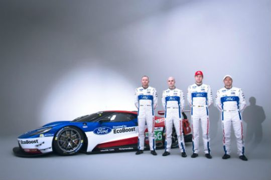 ford wec drivers