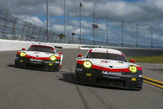 24 Hours Of Daytona Race Debut Of The New Porsche 911 Rsr
