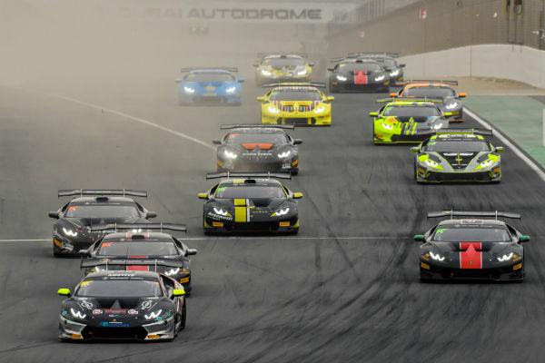 Yas Marina Circuit, Blancpain Super Trofeo, Lamborghini
