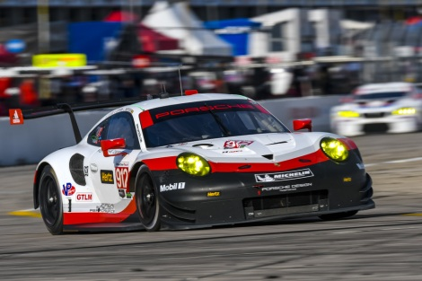 PORSCHE AGAIN AIMS FOR THE PODIUM IN TEXAS WITH THE NEW 911RSR