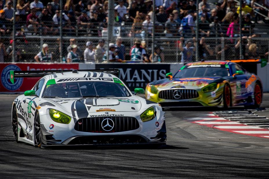Mercedes long beach sportscar racing news for Mercedes benz of long beach ca