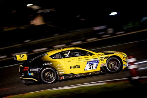 VERDONCK WITH BENTLEY TEAM ABT AT THE 24 HOURS OFSPA