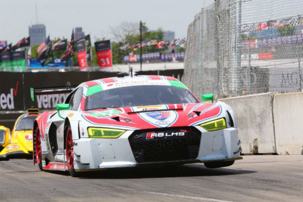 Superb ... A Promising Run Out Front Came To An End After An Axle Failure Ended  The Teamu0027s Race Early For The No. 57 Stevenson Motorsports Audi R8 LMS On  Saturday.