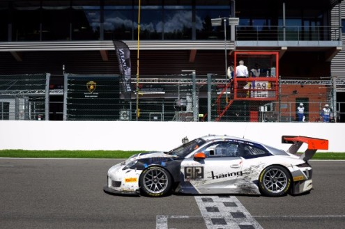 The 500 Hp 911 With Starting Number 117 Narrowly Missed Out On Claiming A Podium Spot And Secured Commendable Fourth Place In Strong Field Of 63