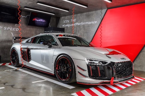 CHINA GETS FIRST GLIMPSE OF AUDI R LMS GT AT AUDI SPORT FESTIVAL - Audi sports car