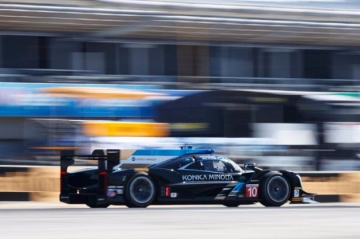 At Mazda Raceway Laguna Seca Side By Side On The Front Row For Tomorrows Penultimate Round Of The Championship The Whelen Engineering Cadillac Dpi V R