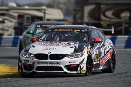 Podium For The Bmw M4 Gt4 On Its Usa Debut Sportscar Racing News