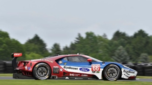 Chip Ganassi Racing Ford Gt Keep Up Momentum With Road America Pole