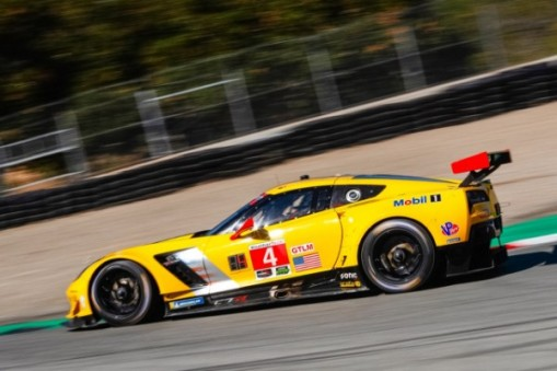 Raceway Laguna Seca It Was The First Pole Position At The Circuit For Gavin Who Will Start Just Ahead Of Teammate Jan Magnussen On The Gtlm Grid