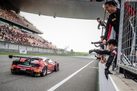 FOSTER MOVES INTO BLANCPAIN GT SERIES ASIA TITLE CONTENTION FOLLOWING FIRST VICTORY FOR HUBAUTO's FERRARI AT SHANGHAI