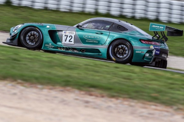 THE LECHNER MERCEDES FASTEST IN GT OPEN FREE PRACTICE IN BARCELONA