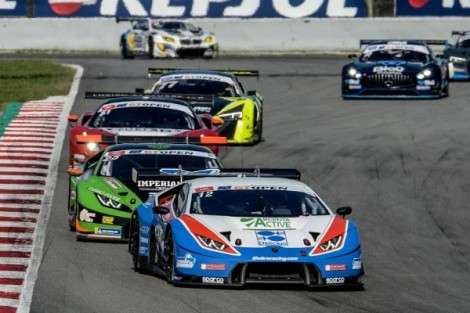 MAIDEN WIN OF THE GT OPEN SEASON FOR LAMBORGHINI THANKS TO OMBRA RACING AT BARCELONA