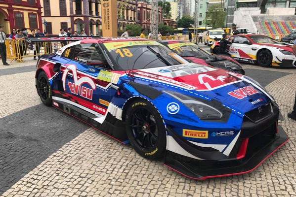 NISSAN GT-R NISMO GT3 READY TO TACKLE MACAU WITH KCMG