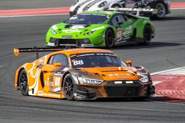 24ч гонка дубай 2018 rscar motorsport