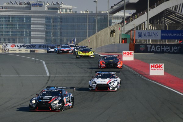 KCMG NISSAN GT-R'S STRONG PACE GOES UNREWARDED IN 24H DUBAI