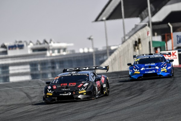 LAMBORGHINI SUPER TROFEO MIDDLE EAST VICTORY FOR BOGUSLAVSKIY AND SCHANDORFF IN DUBAI