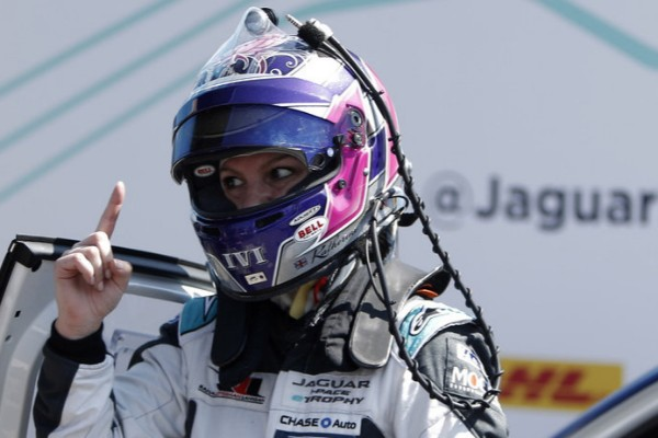 KATHERINE LEGGE MAKES HISTORY IN MEXICO CITY WITH JAGUAR I-PACE ETROPHY VICTORY