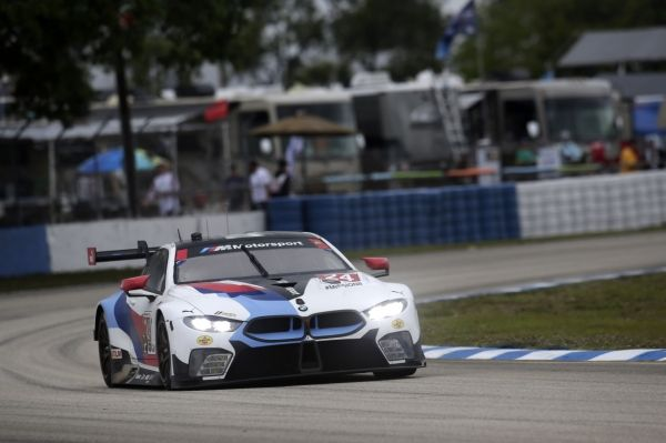 BMW TEAM RLL COMES FOURTH AND SEVENTH IN THE GTLM CLASS AT THE 12 HOURS OF SEBRING