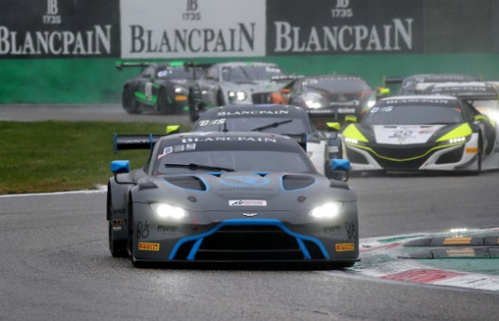 R-MOTORSPORT MISS OUT ON BLANCPAIN GT POINTS FINISH IN THE RAIN AT MONZA