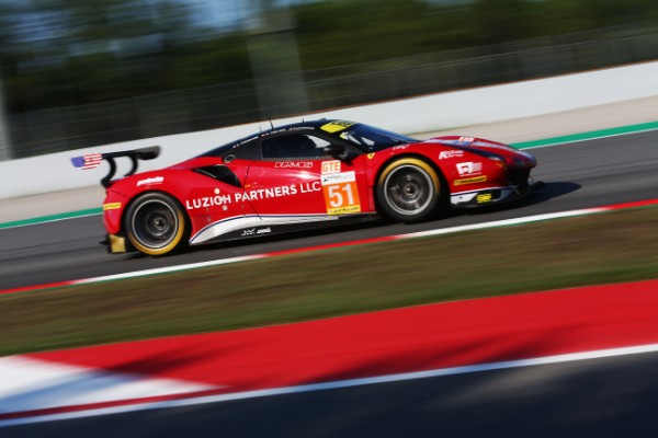 FERRARI TAKES THE TOP FOUR IN LMGTE AT THE 4 HOURS OF BARCELONA