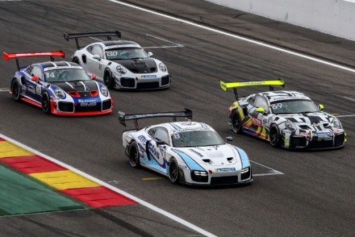 THREE PORSCHE RACE CARS MAKE TRACK TIME FOR REAL ENTHUSIASTS