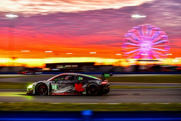 STRONG WEEKEND FOR AUDI SPORT IN DAYTONA
