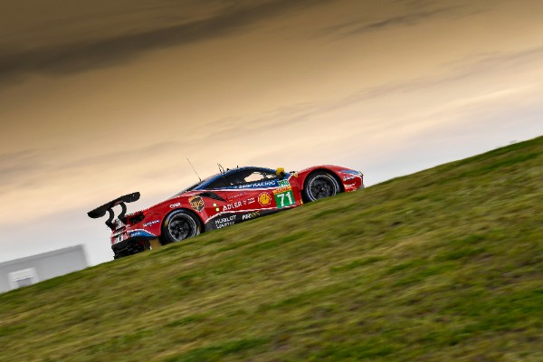 FIVE FERRARIS TO TACKLE THE 6 HOURS OF SPA