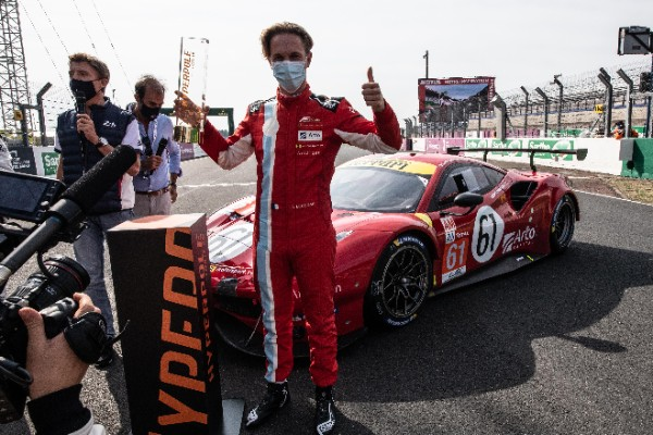 FERRARI IN POLE POSITION AND FRONT ROW AT 24 HOURS OF LE MANS