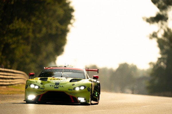 ASTON MARTIN QUALIFIES ON THE SECOND ROW FOR LE MANS