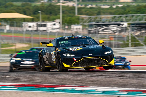 FLYING LIZARD MOTORSPORTS CLINCHES GT4 AMERICA SPRINT CHAMPIONSHIP AT THE CIRCUIT OF THE AMERICAS