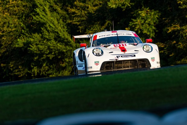 PORSCHE TO START AT ROAD ATLANTA FROM POLE POSITION