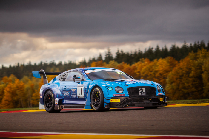 LUCK DESERTS TEAM PARKER RACING AT THE 24 HOURS OF SPA
