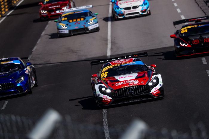 CRAFT-RACING NARROWLY MISSES OUT ON A MACAU GT CUP PODIUM AFTER THRILLING FIGHT BACK BY DARRYL O'YOUNG