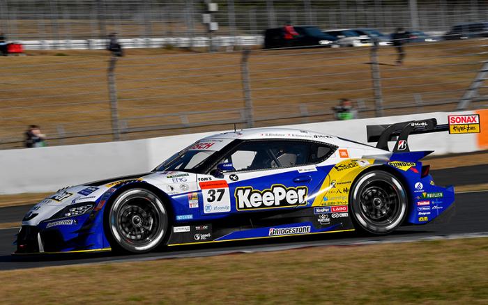 KEEPER TOM'S GR SUPRA TAKES SUPER GT POLE POSITION AT FUJI