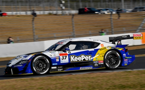 KEEPER TOM'S GR SUPRA TAKES SUPER GT POLE POSITION AT FUJI