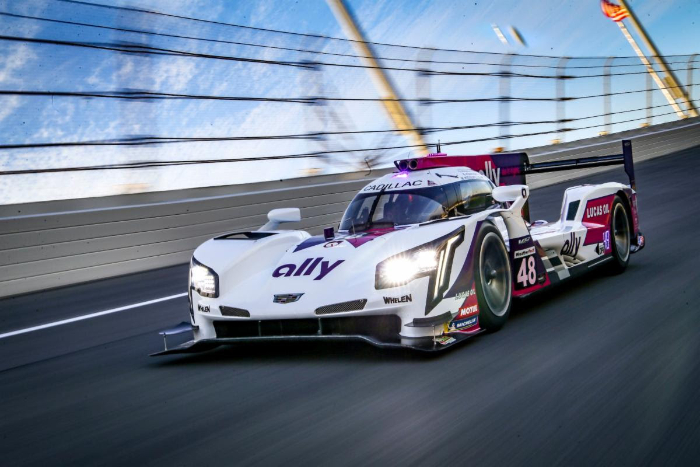 ALLY CADILLAC FINISHES SIXTH IN MOTUL POLE AWARD 100 QUALIFYING RACE AT DAYTONA INTERNATIONAL SPEEDWAY