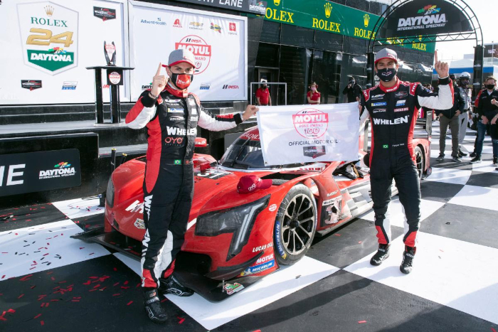 WHELEN ENGINEERING CADILLAC WINS POLE QUALIFYING RACE AT ROAR DAYTONA