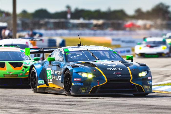 Aston Martin Vantage Gt3 Claims Sebring 12 Hours Podium For Second Consecutive Year Sportscar Racing News