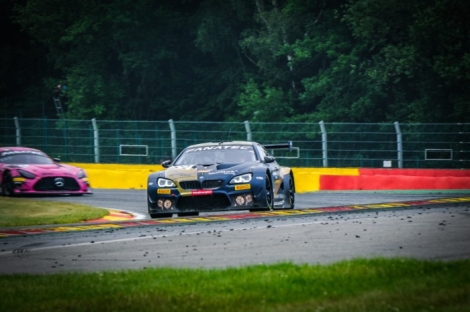 CHEQUERED FLAG FALLS ON BUSY 24 HOURS OF SPA TESTDAYS